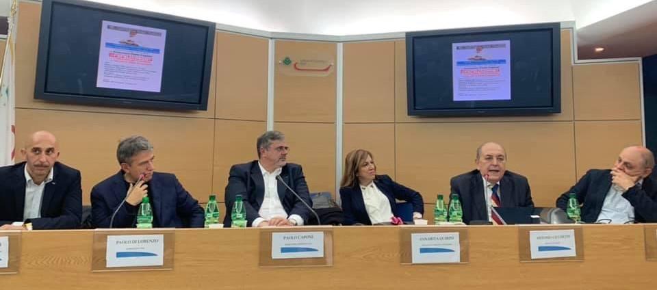 Il segretario generale UGL a Rieti incanta la platea della Camera di Commercio
